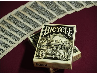 Bicycle Golden Spike Deck - magic