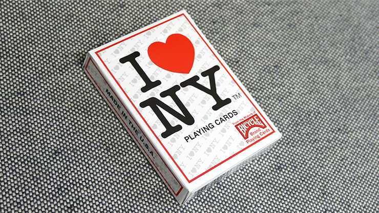 Bicycle I Love NY Playing Cards - magic