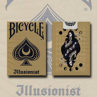 Bicycle Illusionist Deck Limited Edition (Light) - magic