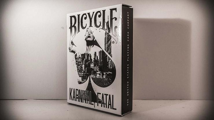 Bicycle Karnival Fatal Playing Cards - magic