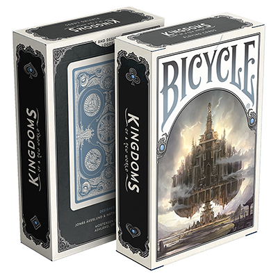 Bicycle Kingdoms Playing Cards (Blue) - magic