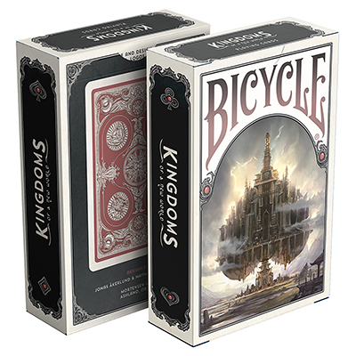 Bicycle Kingdoms Playing Cards (Red) - magic