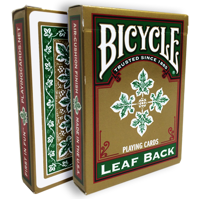 Bicycle Leaf Back Deck (Green) - magic
