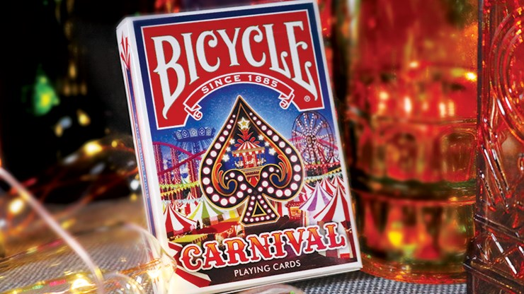 Bicycle Limited Edition Carnival Playing Cards - magic