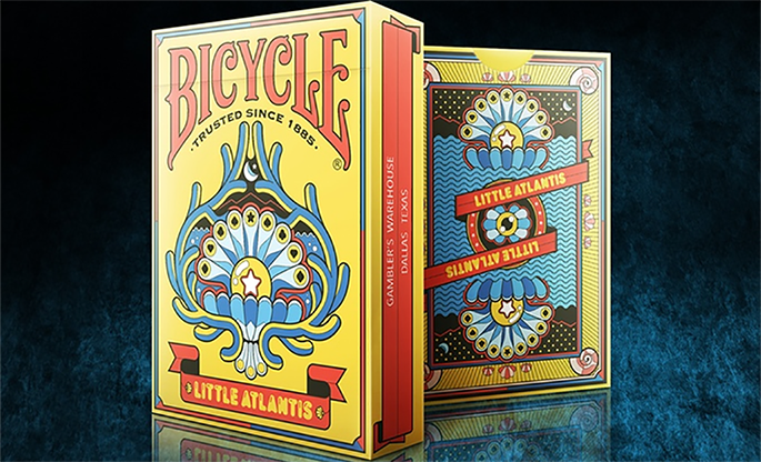 Bicycle Little Atlantis Day Playing Cards - magic