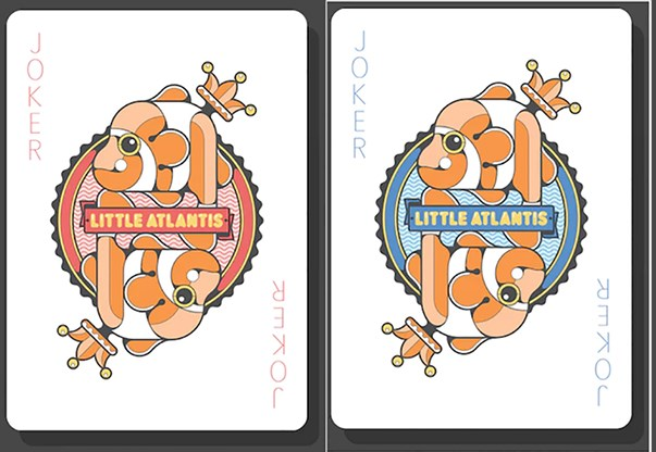 Bicycle Little Atlantis Night Playing Cards - magic