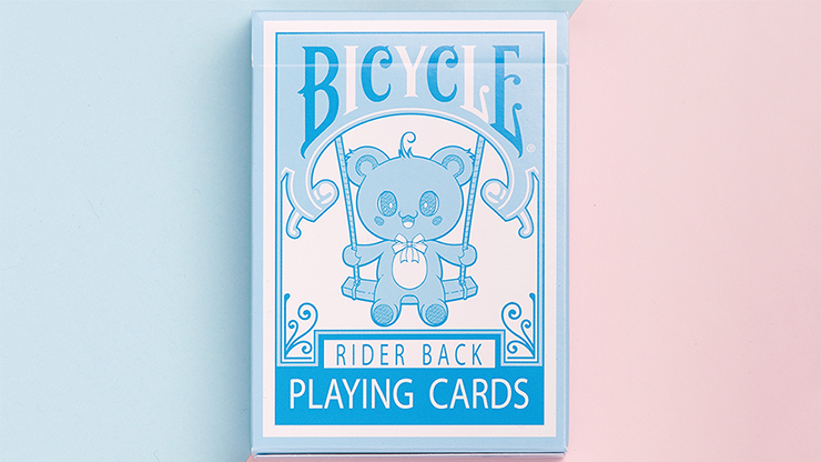 Bicycle Lovely Bear Cards - Light Blue - magic