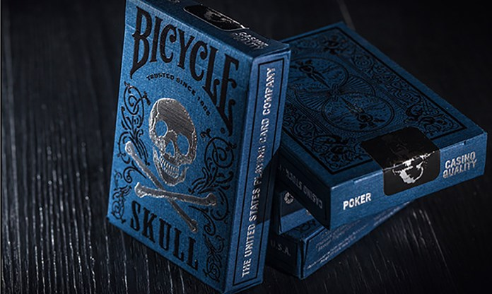 Bicycle Luxury Skull Playing Cards - magic