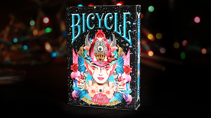 Bicycle Mad World Playing Cards - magic