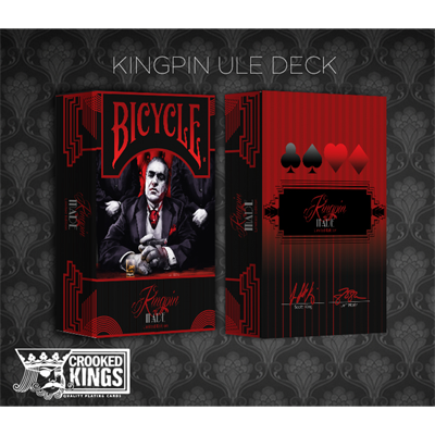 Bicycle Made Kingpin Deck (Limited Edition) - magic