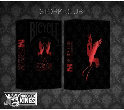 Bicycle Made Stork Club  Deck - magic
