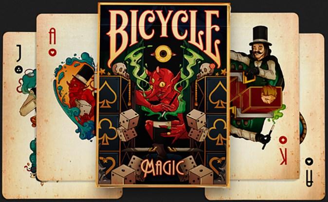 Bicycle Magic Playing Cards - magic