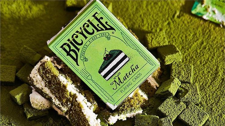 Bicycle Matcha Playing Cards - magic