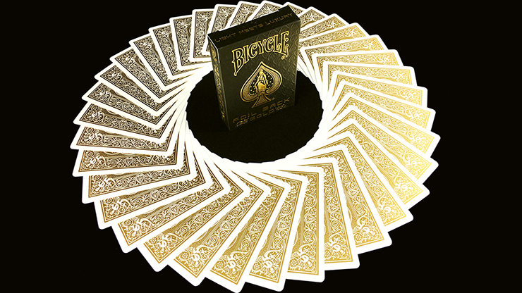 Bicycle MetalLuxe Gold Playing Cards Limited Edition - magic