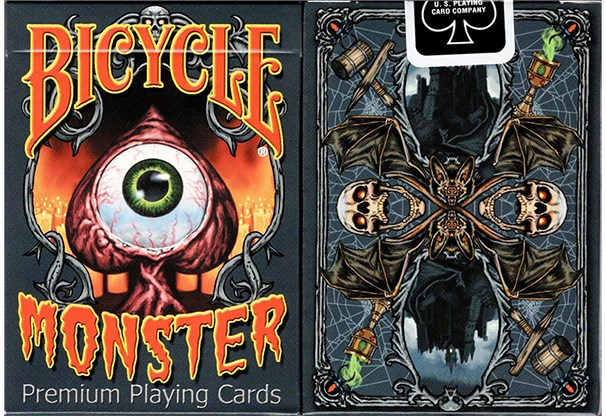 Bicycle Monster Playing Cards - magic