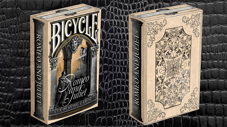 Bicycle Montague vs Capulet Playing Cards (Cream) - magic