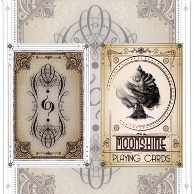 Bicycle Moonshine Playing Cards - magic
