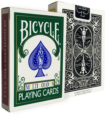 Bicycle Multicolor Deck - magic