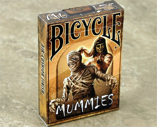 Bicycle Mummies Playing Cards - magic