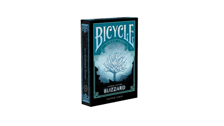 "Bicycle Natural Disasters ""Blizzard"" Playing Cards - magic"