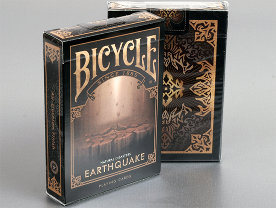 "Bicycle Natural Disasters ""Earthquake"" Playing Cards - magic"