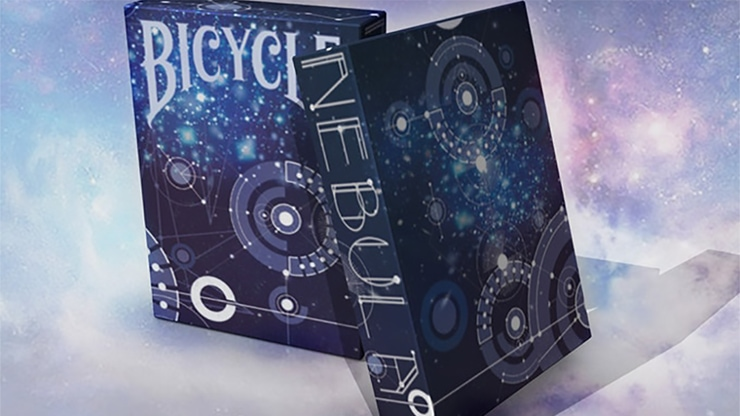 Bicycle Nebula Playing Cards - magic