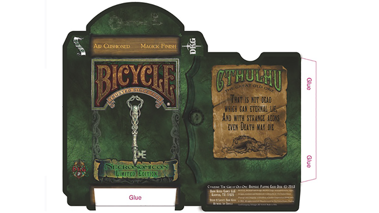 Bicycle Necronomicon Limited Edition Playing Cards - magic