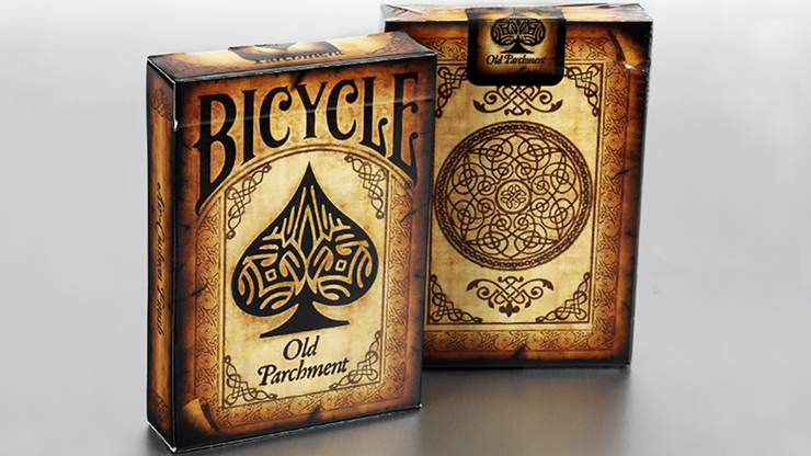 Bicycle Old Parchment Playing Cards - magic