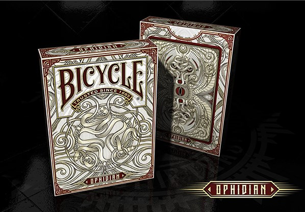 Bicycle Ophidian Playing Cards - magic