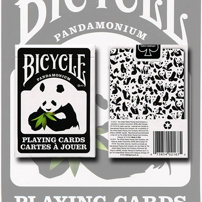 Bicycle Panda Playing Cards - magic