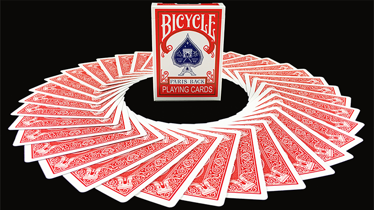 Bicycle Paris Back Limited Edition Red Playing Cards - magic