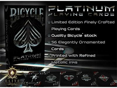 Bicycle Platinum Playing Cards - magic