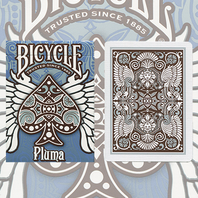 Bicycle Pluma Playing Cards - magic