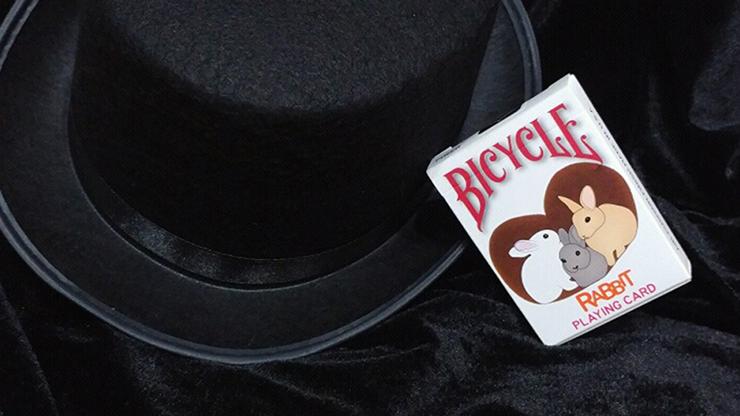 Bicycle Rabbit Playing Cards - magic