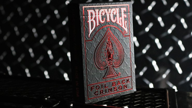 Bicycle Rider Back Crimson Luxe  Version 2 - magic