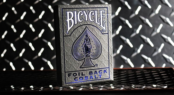 Bicycle Rider Back Crimson Luxe  Blue (V2) - magic