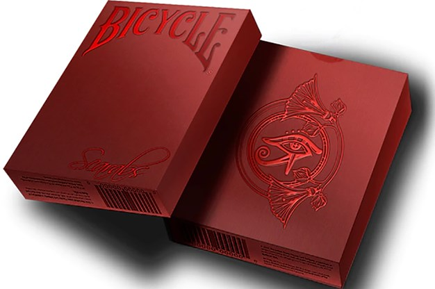 Bicycle Scarab Ruby Playing Cards (Limited Edition) - magic