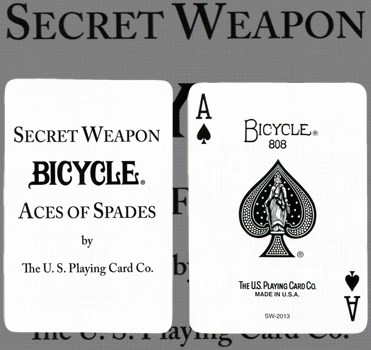 Bicycle Secret Weapon Playing Cards - magic