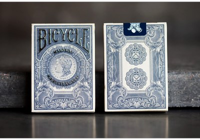 Bicycle Silver Certificate Deck - magic