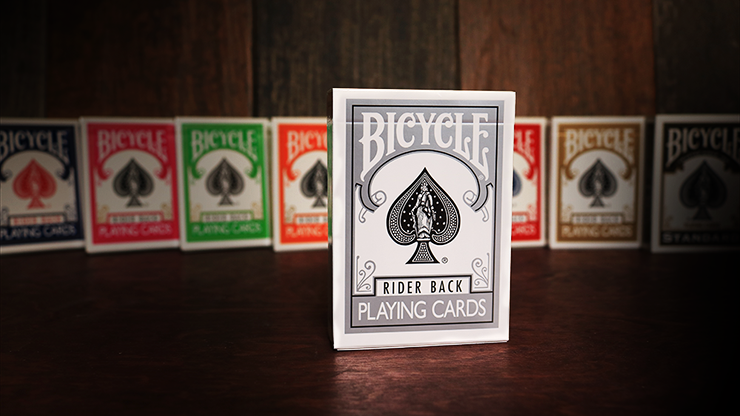 Bicycle Silver Playing Cards - magic