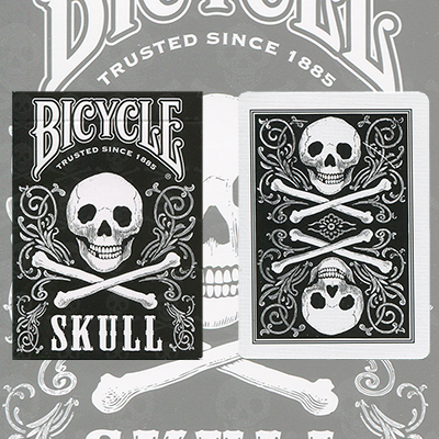 Bicycle Skull Playing Cards - magic