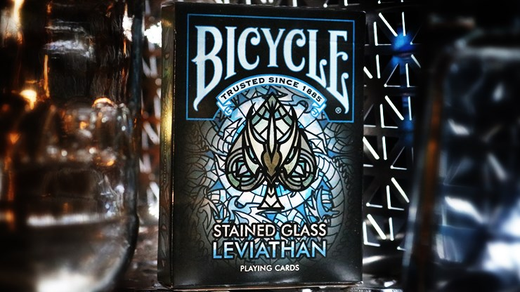 Bicycle Stained Glass Leviathan Playing Cards - magic