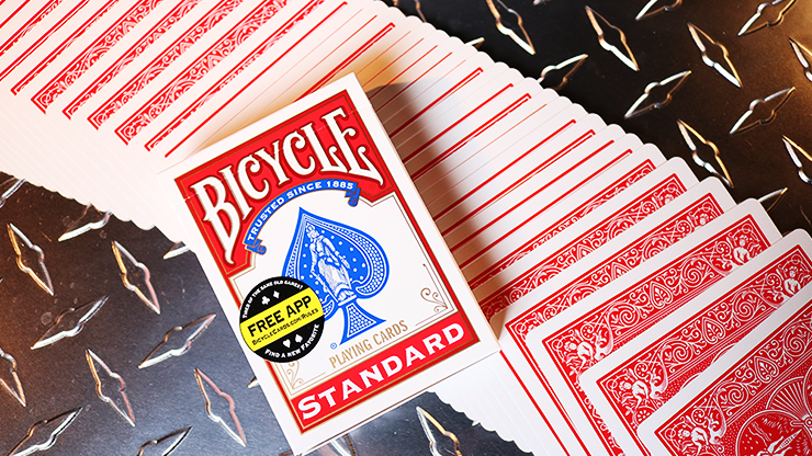 Bicycle Standard Red Poker Cards - magic