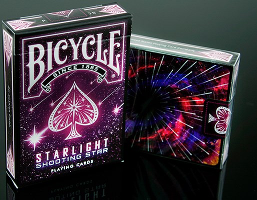 Bicycle Starlight Shooting Star Playing Cards - magic