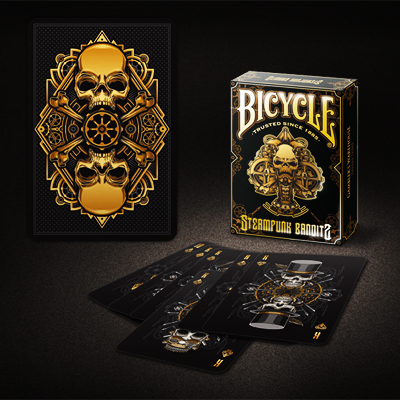 Bicycle Steampunk Deck (Black) - magic