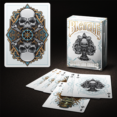 Bicycle Steampunk Deck (White) - magic