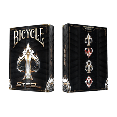 Bicycle Steel Playing Cards - magic