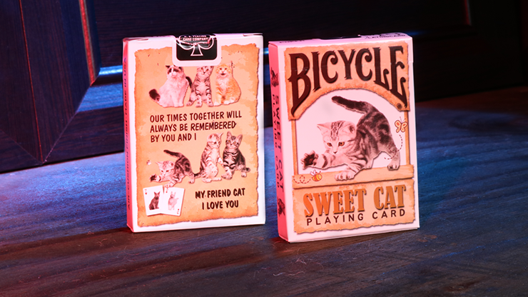 Bicycle Sweet Cat Playing Cards - magic