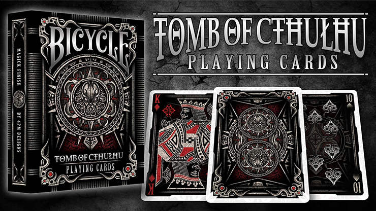 Bicycle Tomb of Cthulhu Playing Cards - magic