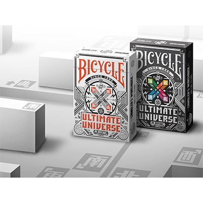 Bicycle Ultimate Universe Gray Scale Playing Cards - magic